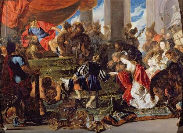 The Continence of Scipio (oil on canvas)