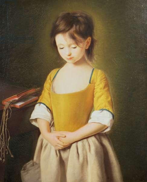 Portrait of a Young Girl, La Penitente