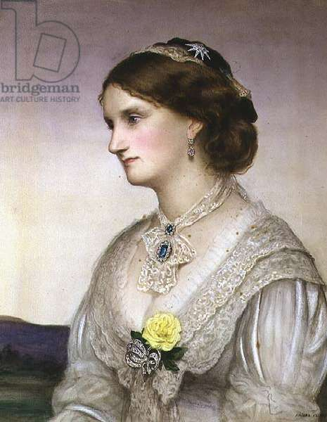 Selina, the Countess of Bradford, 1876 (oil on canvas)