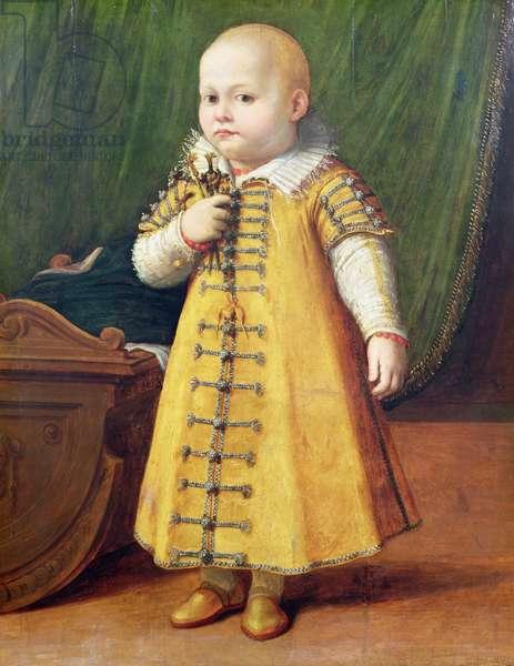Portrait of a child (panel)