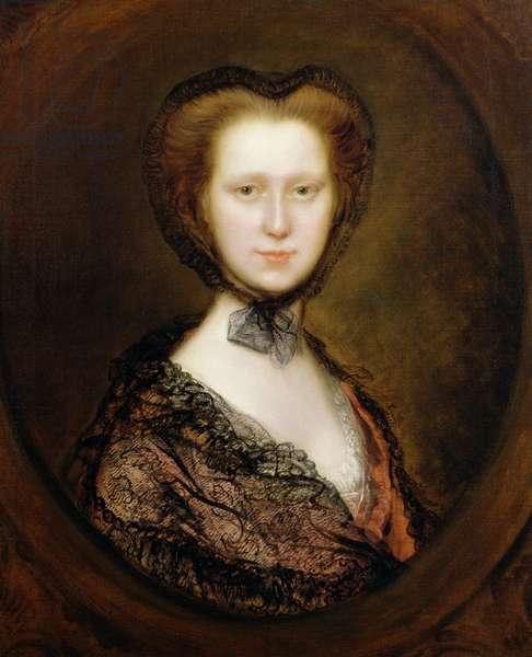Lady Lucy Boyle (1744-92) Viscountess Torrington (oil on canvas)