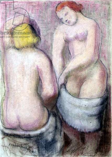 Two Nudes, 1940 (pastel)