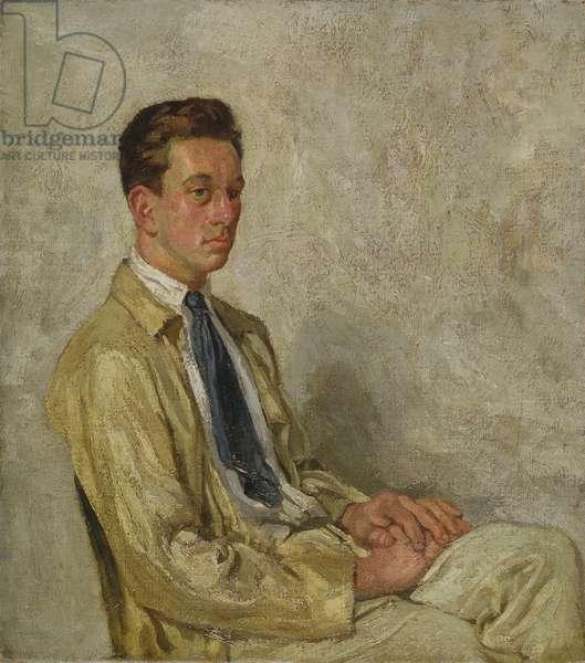 Portrait of Rollo Peters III, c.1915 (oil on canvas)