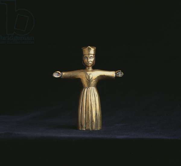 Christ the King, 1919 (brass)