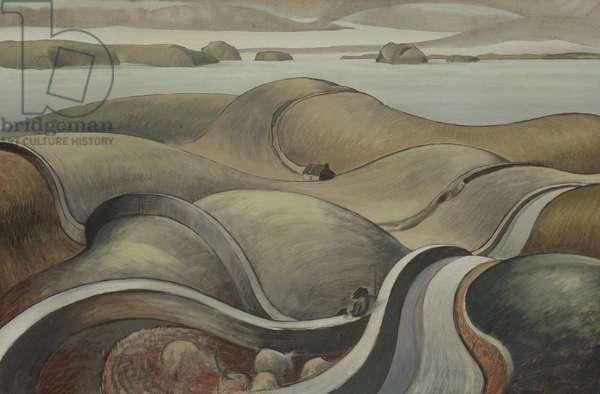Shepherd landscape, 1928-46 (oil on canvas)