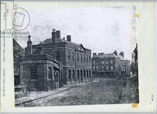 The Butter Cross, Wisbech, c.1854 (b/w photo)