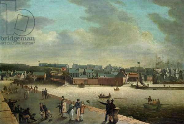 Maryport, c.1819 (oil on canvas)