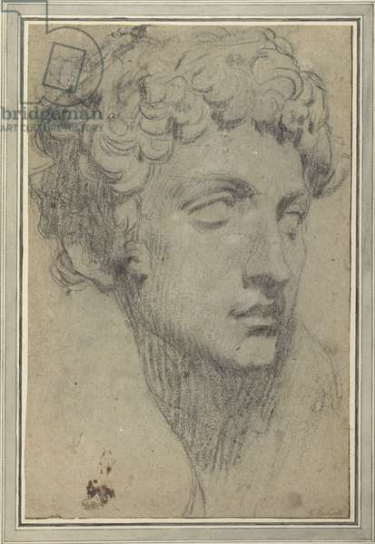 Study after Michelangelo (pencil on paper)