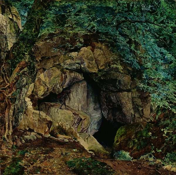 The Dragon's Den, c.1854 (oil on canvas)