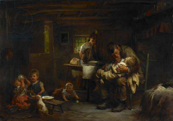 The Widower, 1904 (oil on canvas)