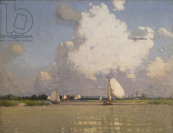 Holland, 1902 (oil on canvas)