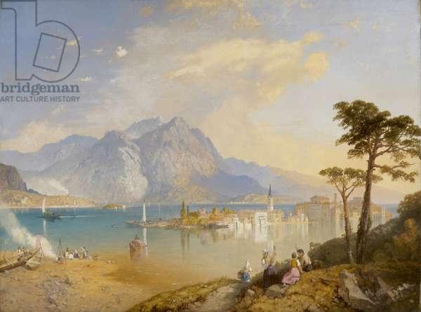 Lago Maggiore, c.1847-69 (oil on canvas)