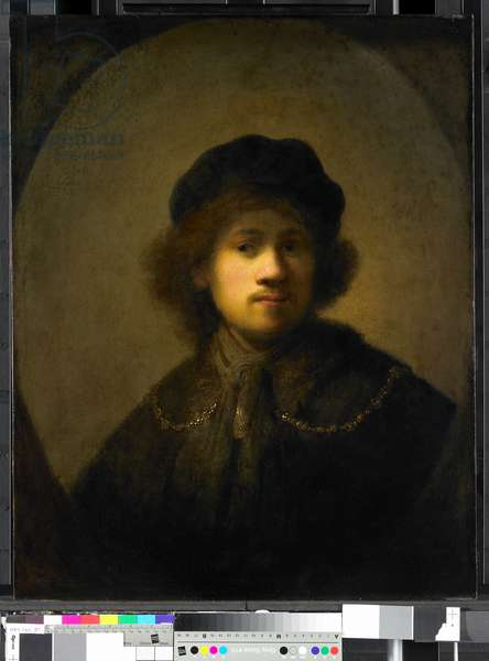 Portrait of the Artist as a Young Man, 1630 (oil on panel)
