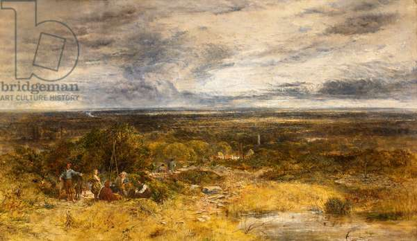 Cheshire landscape, 1853 (oil on canvas)