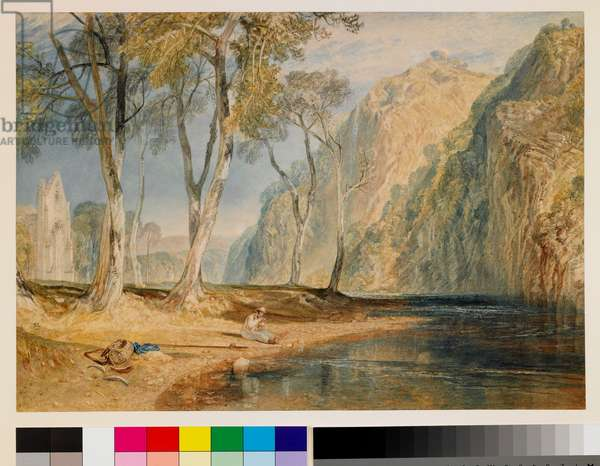 Bolton Abbey, c.1825 (w/c on paper)