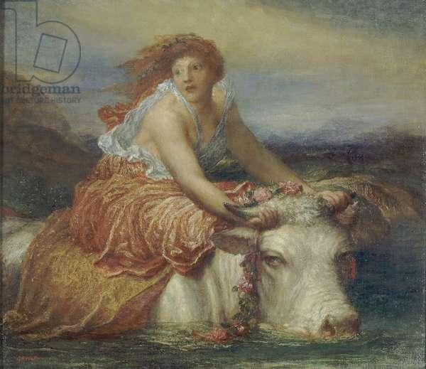 Europa, c.1870-94 (oil on canvas)