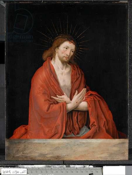 Man of Sorrows, after 1522 (oil on oak panel)
