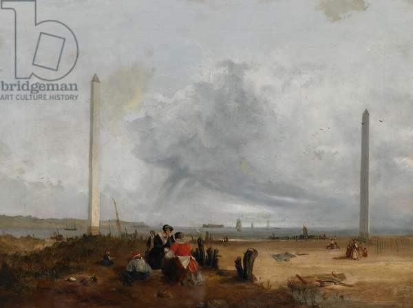 Bootle Landmarks, 1829-34 (oil on canvas)