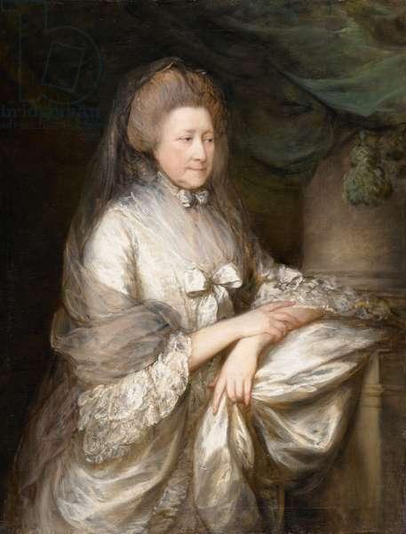 Elizabeth, Viscountess Folkestone, 1780 (oil on canvas)