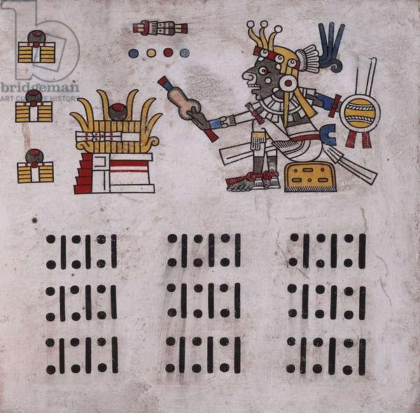 p.13 from the 'Codex Fejérváry-Mayer' (vellum)
