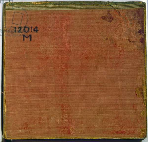 Back Cover from the 'Codex Fejérváry-Mayer' (vellum)