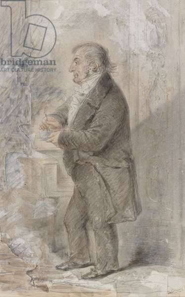 J.M.W. Turner, c.1852 (pencil & w/c on paper)