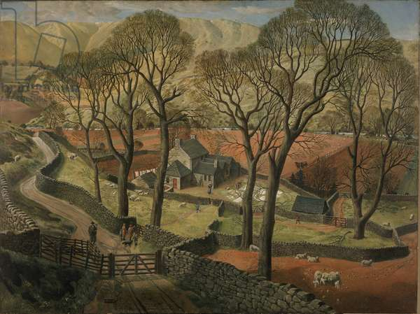 Springtime in Eskdale, 1935 (oil on canvas)