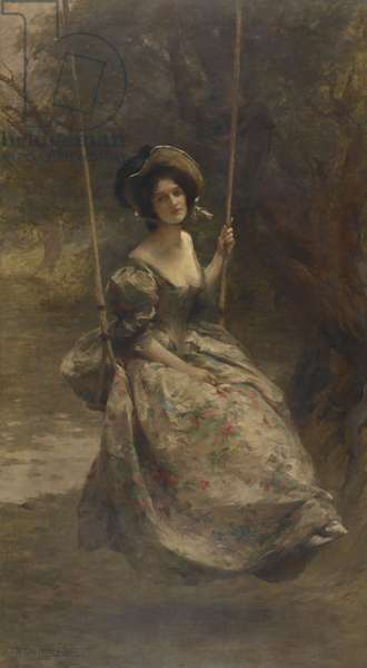 The Swing, 1908 (oil on canvas)