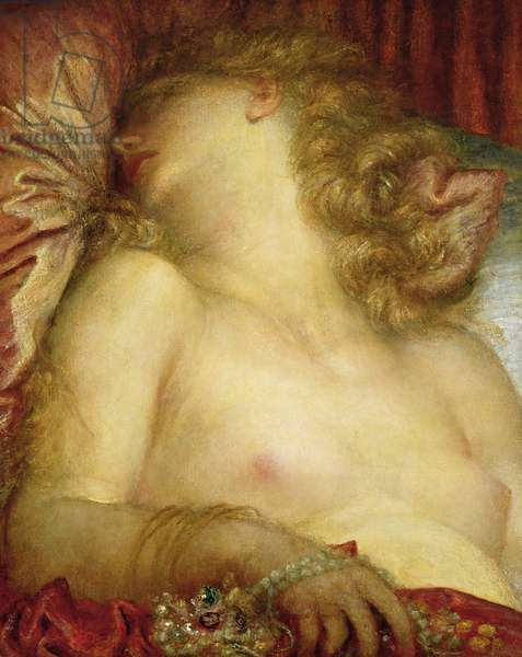 The Wife of Plutus, c.1880-89 (oil on canvas)