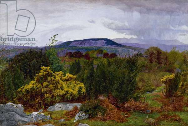 Spring, Arnside Knot, from Warton Crag, 1863 (oil on canvas)