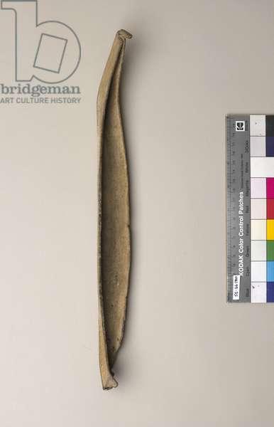 Model of a Longboat, c.1750-2200 BC (lead)