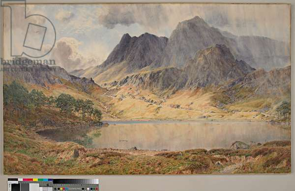 Showery Weather In Little Langdale, 1902 (w/c on paper)