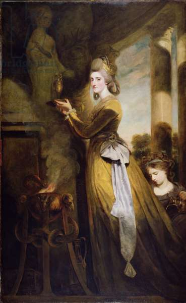 Mrs Peter Beckford (1754-91) 1782 (oil on canvas)