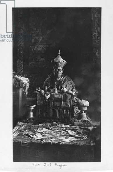 The Deb Raja, Bhutan, 1903-04 (platinum print)