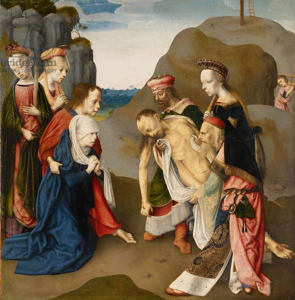 The Entombment, 1486 (oil & tempera on panel)
