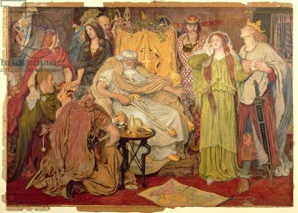 Cordelia's Portion, 1866-72 (w/c, gouache & pastel on paper)