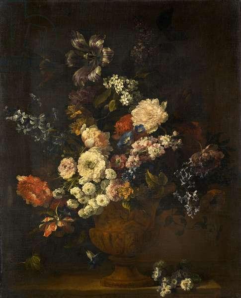 Flower Piece (oil on canvas)