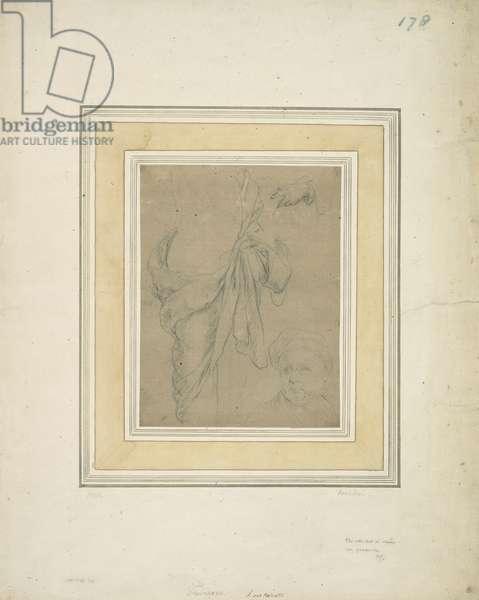 A sheet of studies (pen & ink on paper)