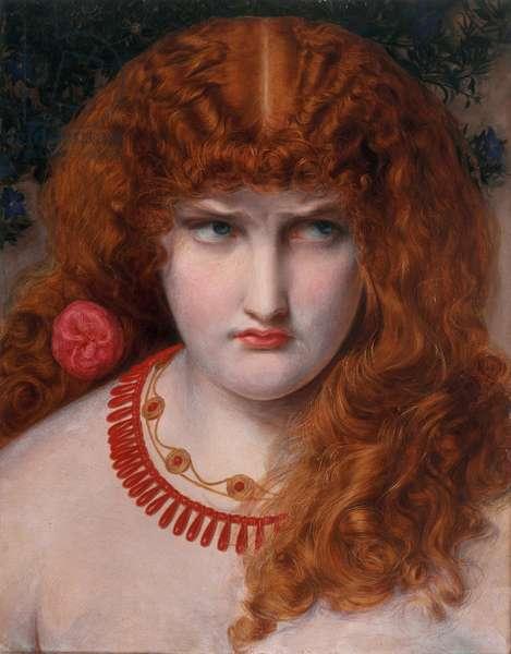 Helen of Troy, c.1867 (oil on panel)