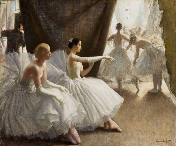 Ballet, 1936 (oil on canvas)
