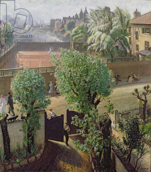 Spring in St John's Wood, 1933 (oil on canvas)