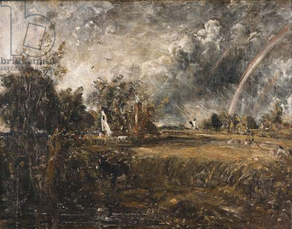 Cottage At East Bergholt, c.1833 (oil on canvas)