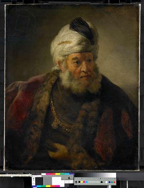 Portrait of a Man In Oriental Dress, 1640-42 (oil on canvas)