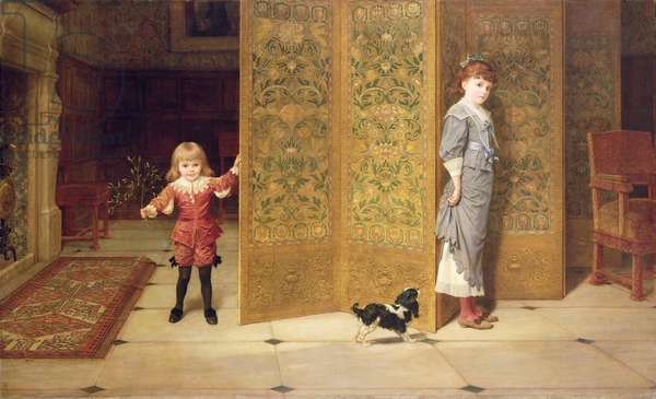 Puritan and Cavalier, 1886 (oil on canvas)