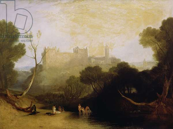 Linlithgow Palace, c.1807 (oil on canvas)