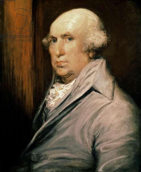 Portrait of George Stubbs (1724-1806) (pastel on paper)