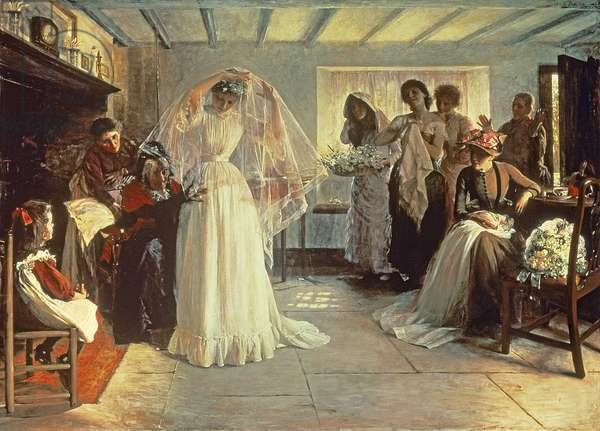 The Wedding Morning, 1892 (oil on canvas)