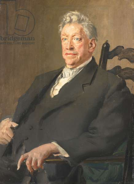 Lord Leverhulme, 1920 (oil on canvas)