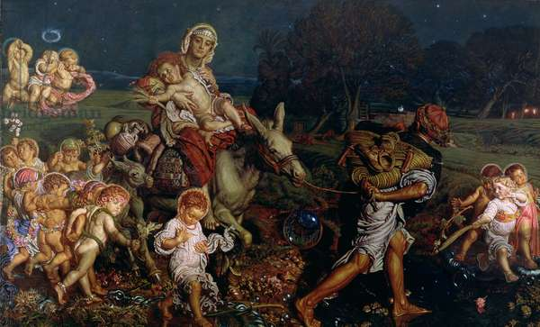 The Triumph of the Innocents, 1876 (oil on canvas)