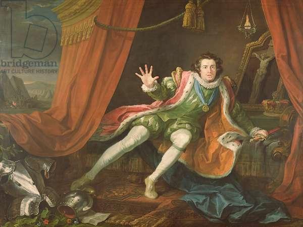 David Garrick as Richard III, 1745 (oil on canvas)